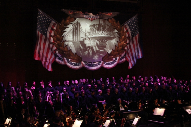 High Res  'Ragtime - In Concert'  Orchestra & Chorus
