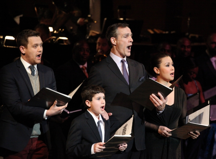 High Res Michael Arden, Lewis Grosso, Howard McGillin & Lea Salonga