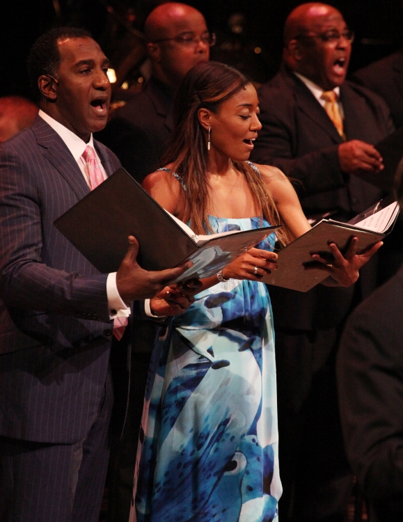 High Res Norm Lewis & Patina Miller