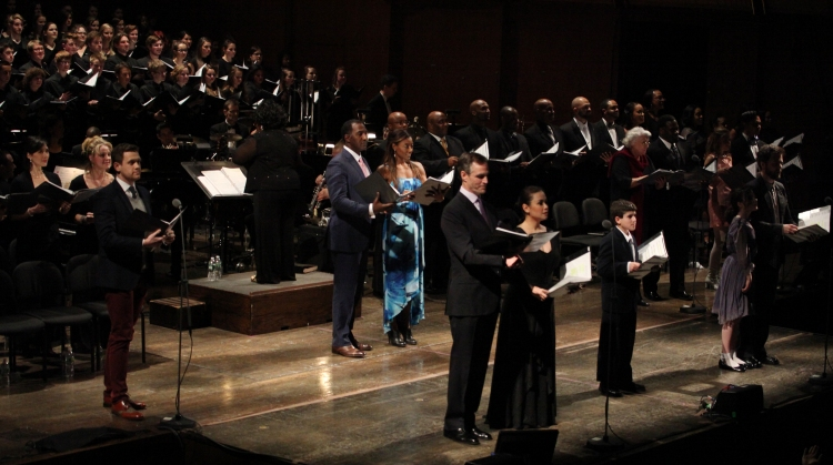 High Res Norm Lewis & Patina Miller with Company