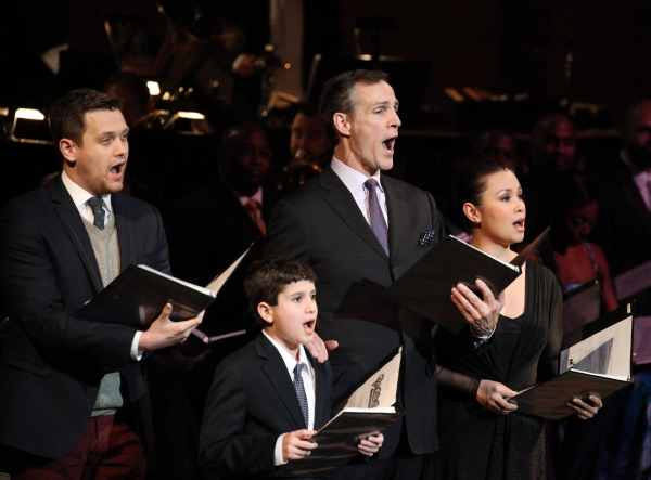 Michael Arden, Lewis Grosso, Howard McGillin & Lea Salonga