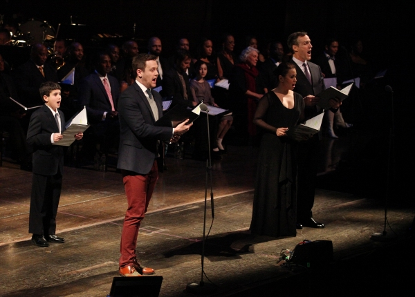 Lewis Grosso, Michael Arden, Lea Salonga, Howard McGillin
