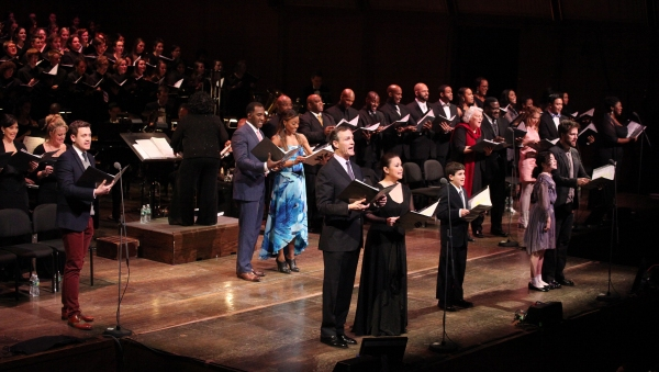 Michael Arden, Norm Lewis, Patina Miller, Howard McGillin, Lea Salonga, Lewis Grosso, Lilla Crawford, Manoel Felciano & Company