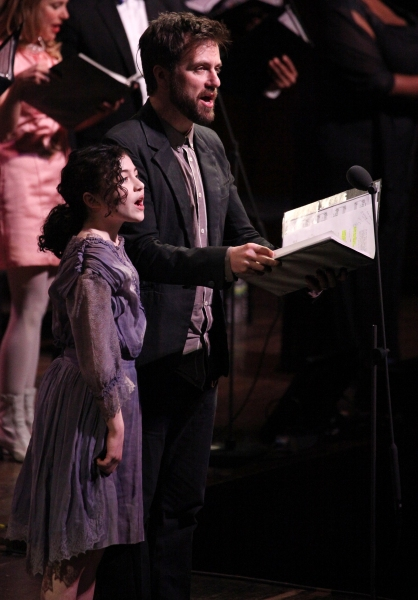 Lilla Crawford & Manoel Felciano at Inside the RAGTIME Concert at Avery Fisher Hall!