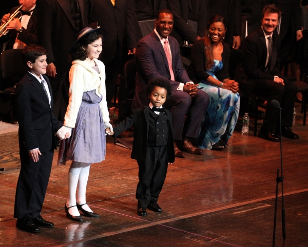 Lewis Grosso, Lilla Crawford, Joshua G. Windley & Company at RAGTIME Concert's Star-Studded Curtain Call!