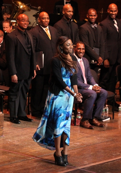 Patina Miller & Norm Lewis at RAGTIME Concert's Star-Studded Curtain Call!