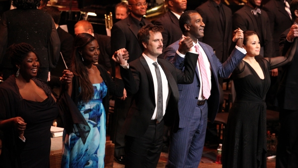 Na Tasha Yvette Williams, Patina Miller, Manoel Felciano, Norm Lewis & Lea Salonga at RAGTIME Concert's Star-Studded Curtain Call!