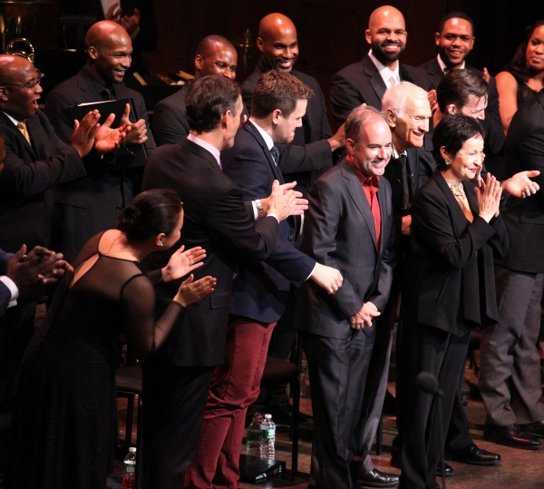 Lea Salonga, Howard McGillin, Michael Arden, Stephen Flaherty, Lynn Ahrens & Company at RAGTIME Concert's Star-Studded Curtain Call!