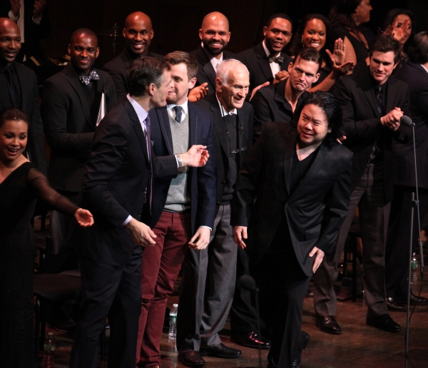 Lea Salonga, Howard McGillin, Michael Arden, Dick Latessa, Jarrod Emick, Matt Cavenaugh & Stafford Arima with Company at RAGTIME Concert's Star-Studded Curtain Call!