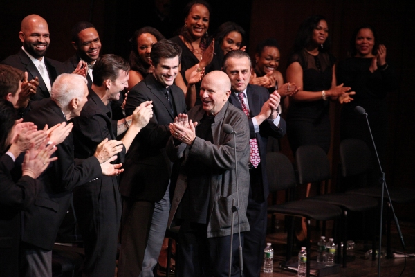 Dick Latessa, Jarrod Emick, Matt Cavenaugh, Michael McCormick, Terrence McNally & Company  at RAGTIME Concert's Star-Studded Curtain Call!