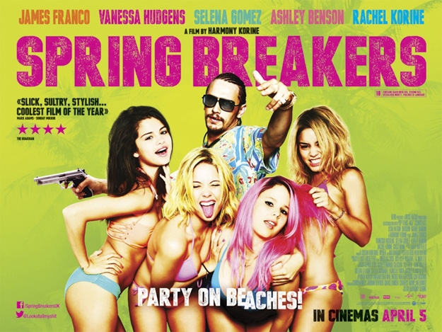 High Res SPRING BREAKERS Poster Art