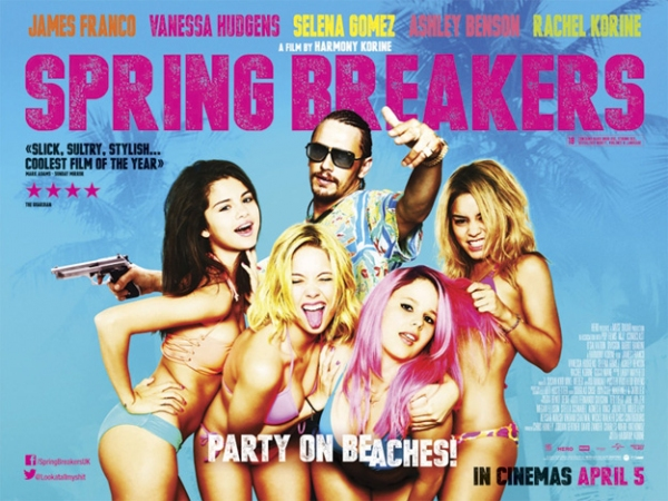 Photo Flash: Selena Gomez & More Featured in New SPRING BREAKERS Posters