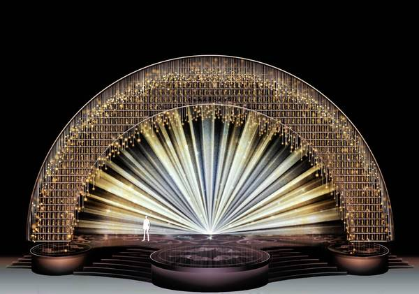 2013 Academy Awards Set Model by <a href=
