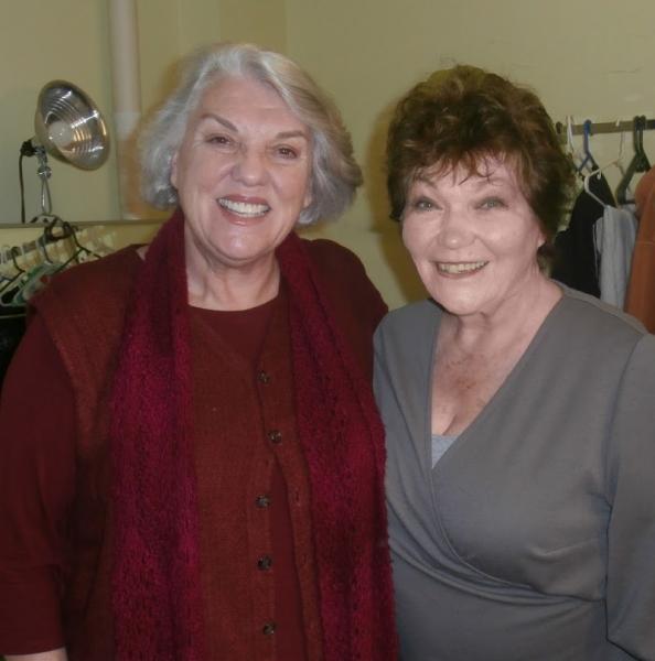 Tyne Daly and Tina Packer