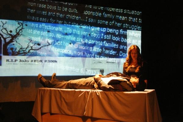 Photo Flash: Collaboraction Presents CRIME SCENE