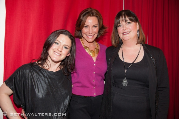 Carrie Manolakos, Luann Delesseps and Ann Hampton Callaway