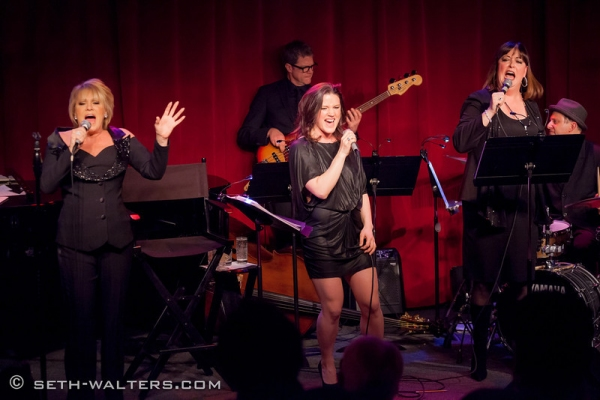 Lorna Luft, Carrie Manolakos and Ann Hampton Callaway