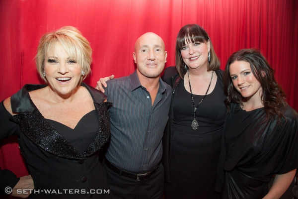 Lorna Luft, Gianni Valenti, Ann Hampton Callaway and Carrie Manolakos