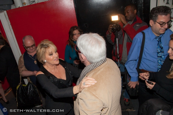 Mickey Boardman, Lorna Luft, Rex Reed and Michael Musto