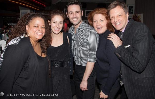 Natalie Douglas, Andrea Prestonario, Max von Essen, Klea Blackhurst and Jim Caruso Photo