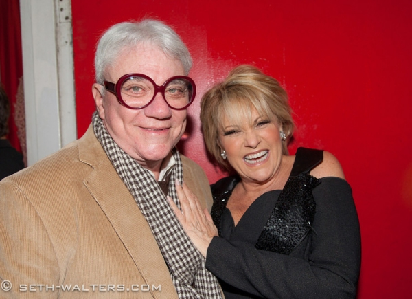 Red Reed and Lorna Luft