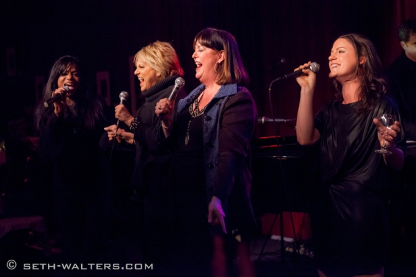Muffy Hendrix, Lorna Luft, Ann Hampton Callaway and Carrie Manolakos