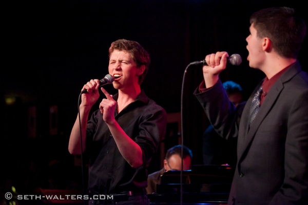 Photo Flash: Ann Hampton Callaway, Nick Adams and More Sing at Birdland