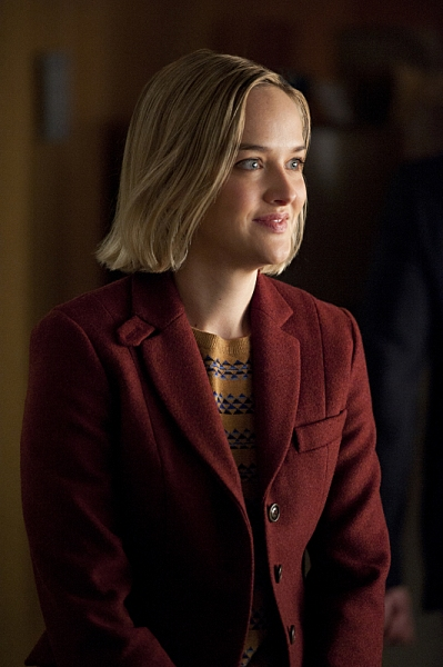"""Runnin' with the Devil""--Jess Weixler as Robyn, who is being reluctantly trained  by Kalinda to be a second investigator at the firm, on THE GOOD WIFE, Sunday March 10 (9:00-10:00 PM, ET/PT) on the CBS Television Network. Photo: David M. Russell/CBS �'"