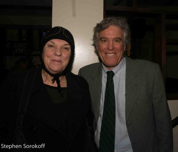 Tyne Daly & Casey Childs at Inside ALL IN THE TIMING's Opening Night After Party!