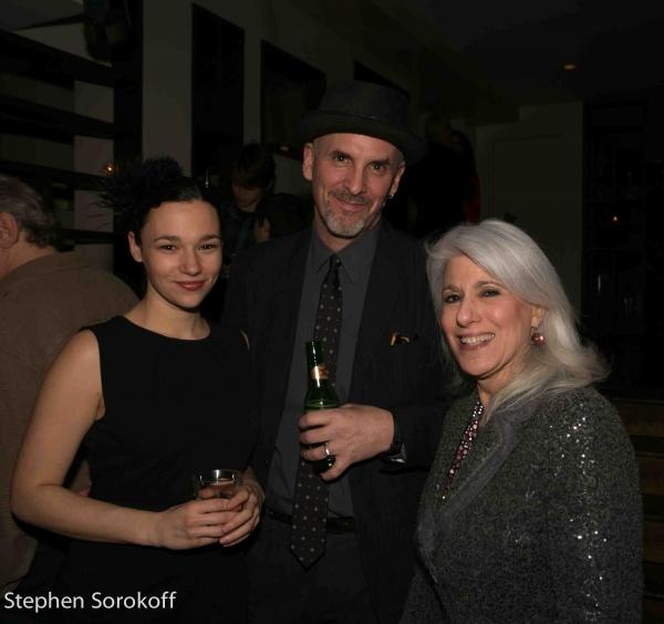 Jennifer Campos, Peter R. Feuchtwanger, Jamie deRoy Photo