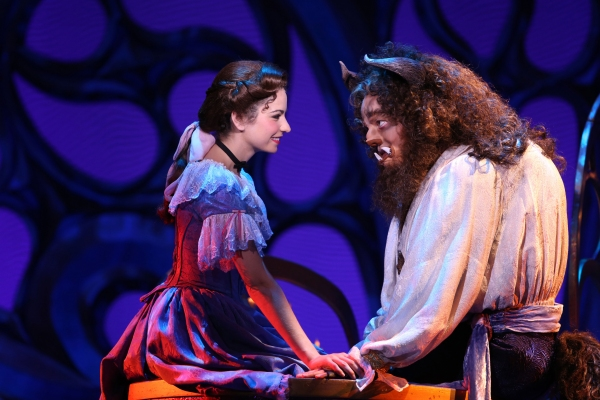 Photo Flash: First Look at Hilary Maiberger, Darick Pead and More in BEAUTY AND THE BEAST Tour
