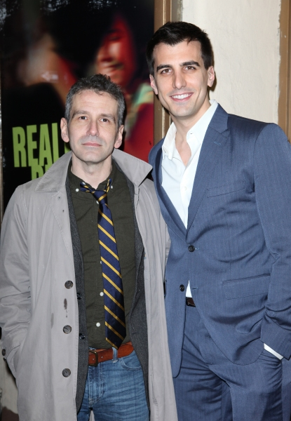 David Cromer & Paul Downs Colaizzo  at REALLY REALLY's Opening Night Theatre Arrivals
