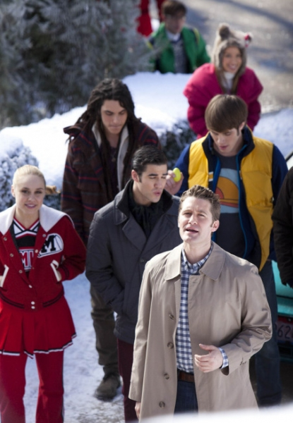 Photo Flash: First Look - GLEE's 'Boys & Girls on Film' Episode