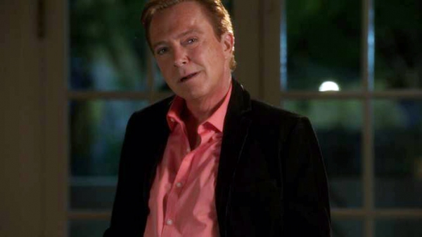 """Last Woman Standing""--Peter Coe (David Cassidy) is a prominent poker player in town for a tournament, on CSI: CRIME SCENE INVESTIGATION, Wednesday, February 27 (10:00-11:00 PM, ET/PT) on the CBS Television Network. Photo: CBS �'?©2013 CBS Broad"