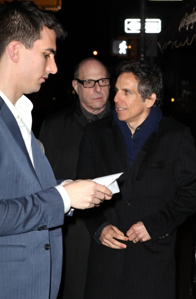 Playwright Paul Downs Colazizzo & Ben Stiller at Inside REALLY REALLY's After Party!