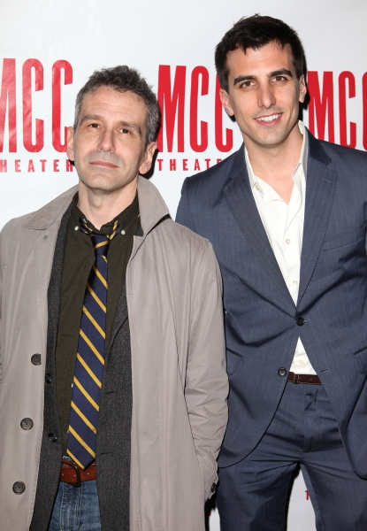 Director David Cromer & Playwright  Paul Downs Colazizzo  at Inside REALLY REALLY's After Party!