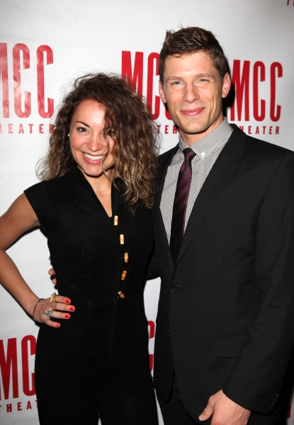 Michelle Armstrong & Matt Lauria