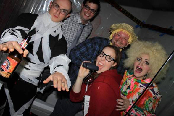 BWW Blog: Tory Ross of KINKY BOOTS - Halloween Party Fun