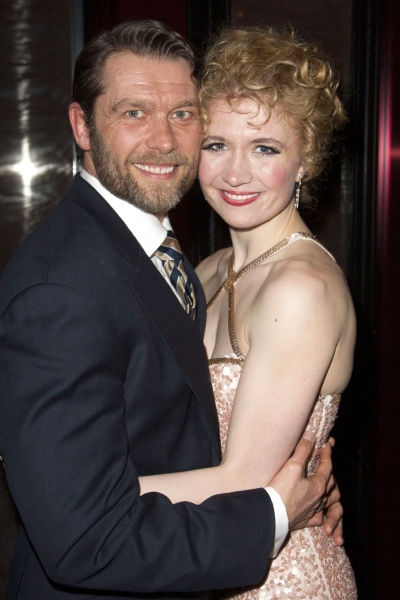 John Partridge (Zach) and Scarlett Strallen (Cassie)