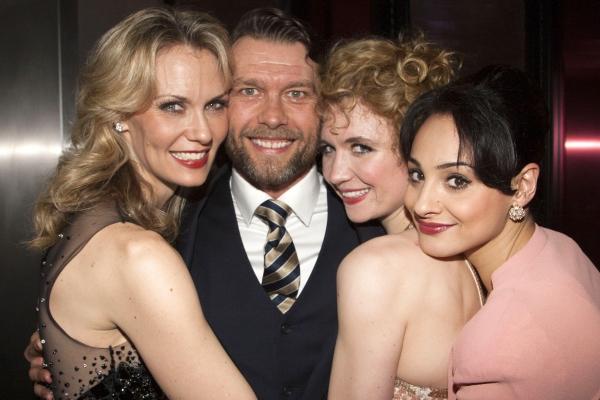 Leigh Zimmerman (Sheila), John Partridge (Zach), Scarlett Strallen (Cassie) and Victoria Hamilton-Barritt (Diana)