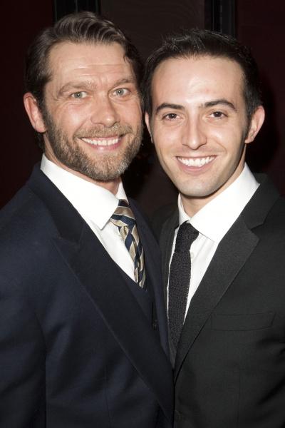 John Partridge (Zach) and Jon Tsouras (Frank)