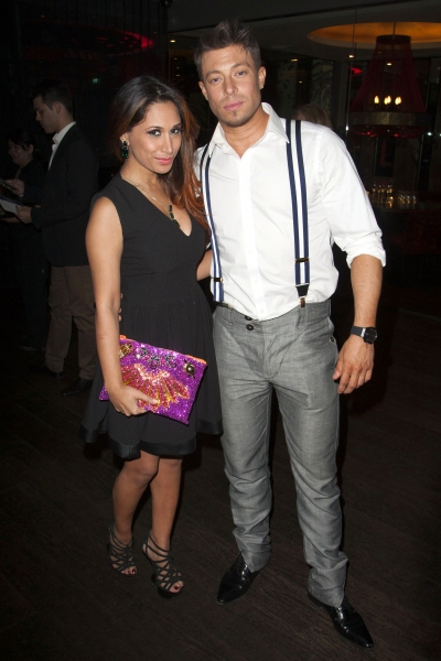 Preeya Kalidas and Duncan James