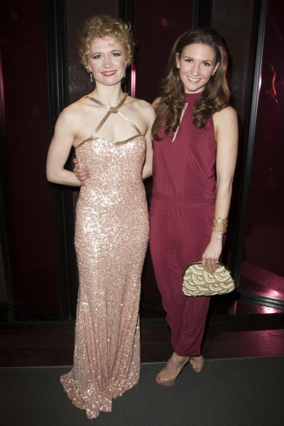 Scarlett Strallen (Cassie) and Summer Strallen