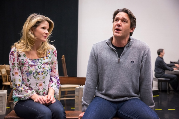 Photo Flash: Inside Rehearsal for NY Philharmonic's CAROUSEL with Kelli O'Hara, Nathan Gunn & More!