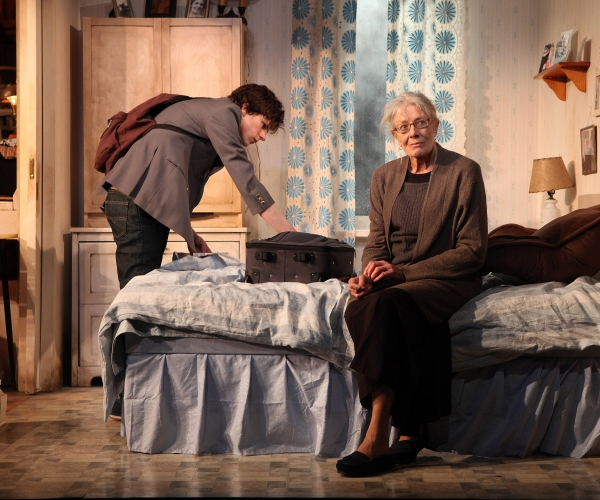 Photo Flash: First Look at Jesse Eisenberg and Vanessa Redgrave in THE REVISIONIST