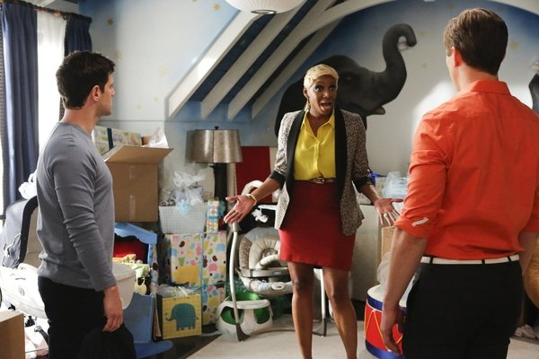 Justin Bartha, NeNe Leakes, Andrew Rannells at THE NEW NORMAL's 'Rocky Bye Baby,' Airing 2/26
