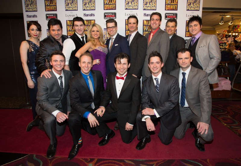 Photo Flash: MILLION DOLLAR QUARTET Celebrates Grand Opening at Harrah's Las Vegas