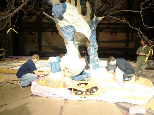 Photo Flash: Building AS YOU LIKE IT at Illinois Wesleyan School of Theatre Arts