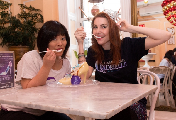 Photo Coverage: Marla Mindelle & Ann Harada Unveil CINDERELLA Glass Slipper Sundae