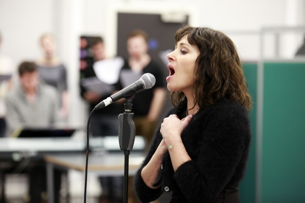 Photo Flash: Sneak Peek at Frances Ruffelle and More in Rehearsals for PIAF
